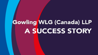Gowling WLG (Canada) LLP - TitanFile Secure File Sharing Case Study