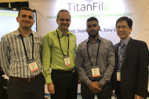 TitanFile Team at ILTACON 2018