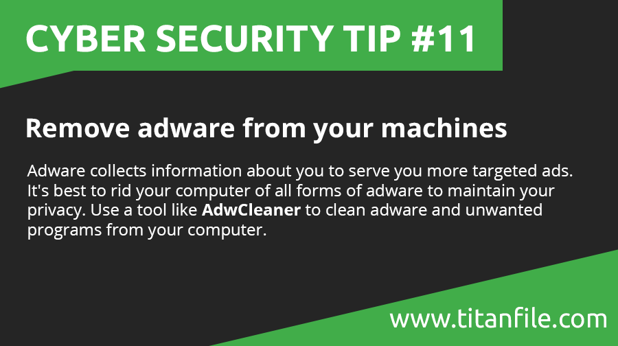 Cyber Security Tip #11