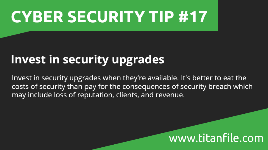 Cyber Security Tip #17