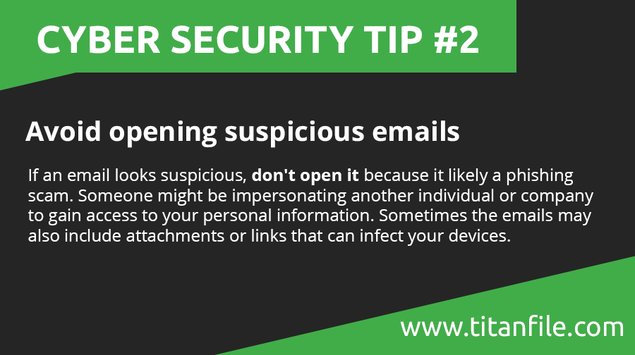Cyber Security Tip #2