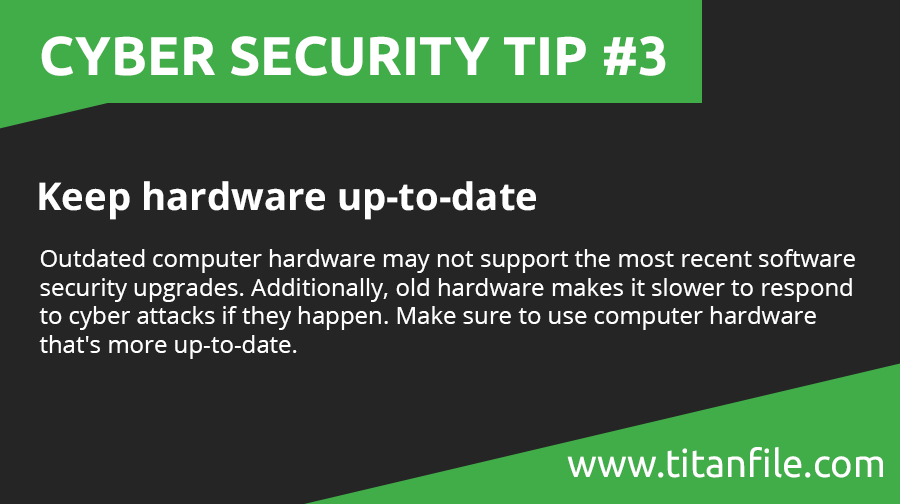 Cyber Security Tip #3