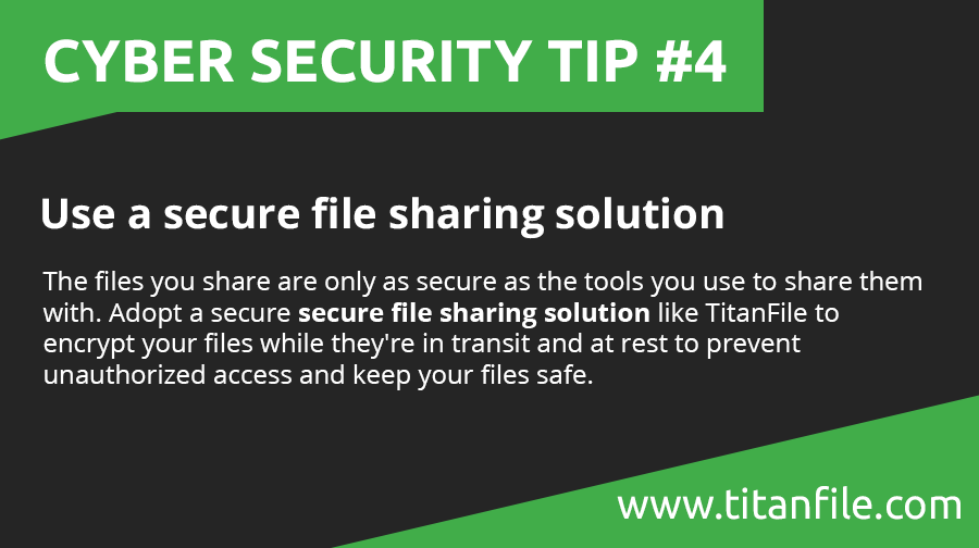 Cyber Security Tip #4