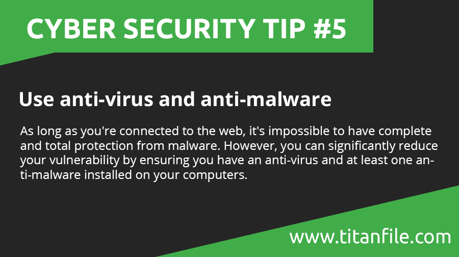 Cyber Security Tip #5