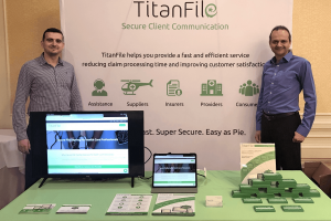 TitanFile at THiA 2019