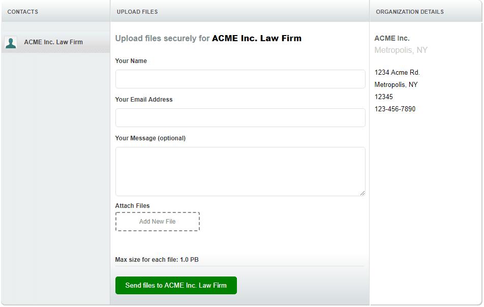 Secure Client Portal