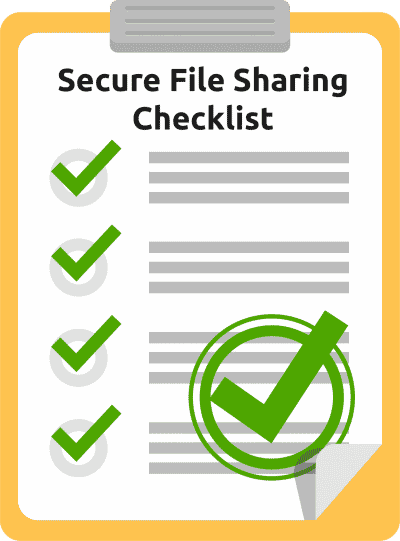 Secure File Sharing Checklist