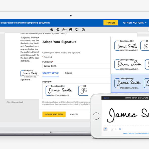 DocuSign Integration - TitanFile