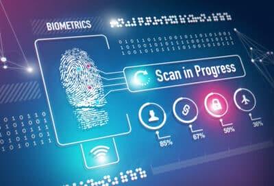 Biometrics Fingerprint Scan